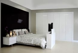 modern Bedroom by Charts Interiors