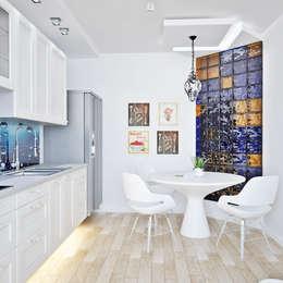 Cocinas de estilo minimalista por AbcDesign