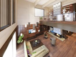 Интерьер загородного дома в Репино (Санкт-Петербург):  в . Автор – ODS Laboratory Architecture & Design