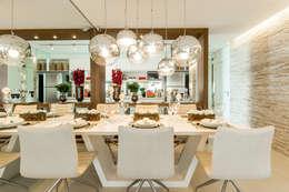 classic Dining room by Chris Silveira & Arquitetos Associados