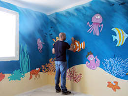 Giorgio Terranova: modern tarz Çocuk Odası