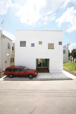 Casas modernas por スターディ・スタイル一級建築士事務所