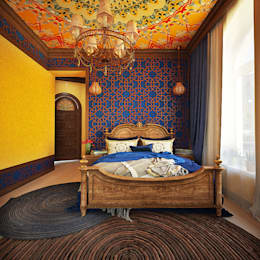 asian Bedroom by AbcDesign