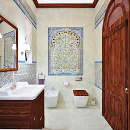 asian Bathroom by AbcDesign