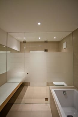 Projekty,  Łazienka zaprojektowane przez BPLUSARCHITEKTUR