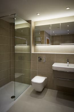 Projekty,  Łazienka zaprojektowane przez LA Hally Architect