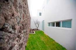 Patio: Jardines de estilo minimalista por JF ARQUITECTOS