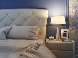 Квартира двухуровневая: Спальни в . Автор – Оксана Мухина