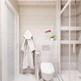 Квартира для современной пары: Ванные комнаты в . Автор – Оксана Мухина