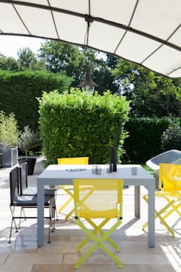 Multipliez les genres: Jardin de style de style Moderne par Vue Jardin
