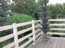 Barandillas de madera de interior y de exterior Balcones madera exterior