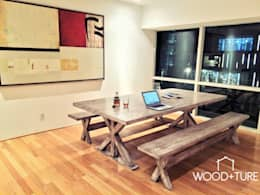modern Dining room by Wood Culture