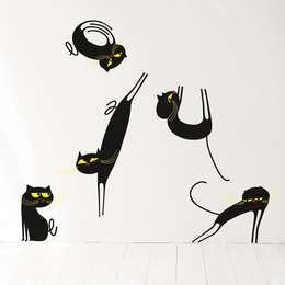 wall stickers per ogni ambiente della casa. Black Bedroom Furniture Sets. Home Design Ideas