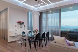 modern Dining room by HO arquitectura de interiores