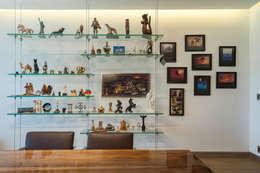 HO arquitectura de interiores: modern tarz Çalışma Odası