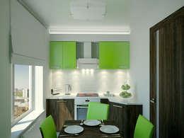 Cocinas de estilo minimalista por Симуков Святослав частный дизайнер интерьера