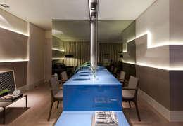 Projekty,  Jadalnia zaprojektowane przez Matheus Menezes Arquiteto