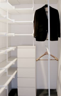 minimalistic Dressing room by na3 - studio di architettura