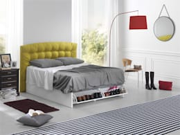 modern Bedroom by ECUS