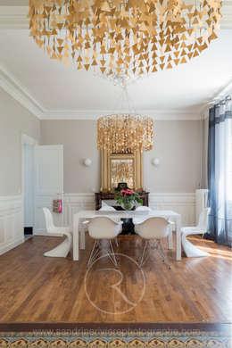Salle à manger: Salle à manger de style de style eclectique par Sandrine RIVIERE Photographie