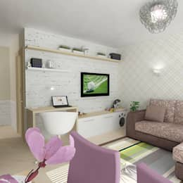 غرفة المعيشة تنفيذ Design Rules