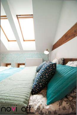 Sypialnia 2: styl , w kategorii Sypialnia zaprojektowany przez Novi art