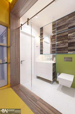eclectic Bathroom by Kornienko-Partners