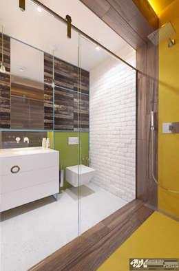 """""""Vintage"""": Ванные комнаты в . Автор – Kornienko-Partners"""