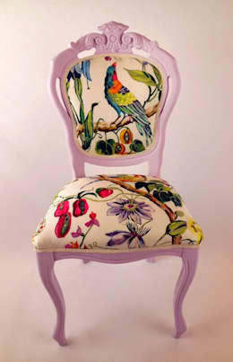 Come dare una nuova vita alle sedie antiche for Poltroncine colorate