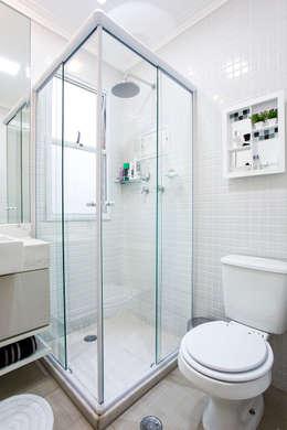 modern Bathroom by Amanda Pinheiro Design de interiores