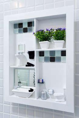 Amanda Pinheiro Design de interiores의  화장실
