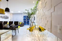 Livings de estilo moderno por Amanda Pinheiro Design de interiores