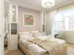 Дизайн интерьера квартиры площадью в г.Мытищи, 100 кв.м. : Спальни в . Автор – variatika