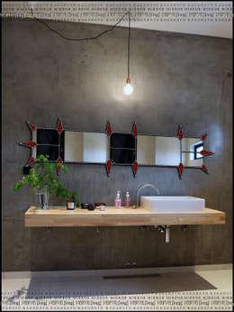 Salle de bain de style de style Industriel par KAGADATO