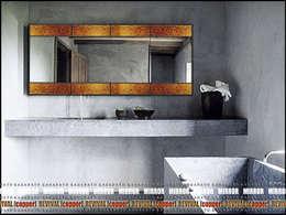 Зеркало - REVIVAL [copper]: Ванная комната в . Автор – KAGADATO