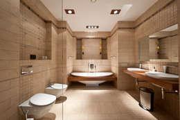 industrial Bathroom by Sky Gallery