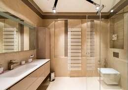 """ЖК """"Дирижабль"""": Ванные комнаты в . Автор – Sky Gallery"""