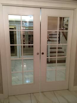 Ventanas y puertas de estilo  por Vizyon mimarlık ve Dekorasyon