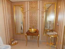 Vizyon mimarlık ve Dekorasyon – N&O.A Evi / Uzunköprü: klasik tarz tarz Banyo