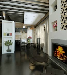 klasieke Woonkamer door Shtantke Interior Design