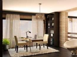 Private House: styl , w kategorii Domowe biuro i gabinet zaprojektowany przez Shtantke Interior Design
