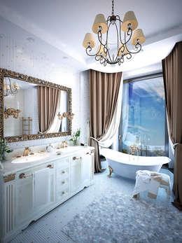 Baños de estilo  por Shtantke Interior Design