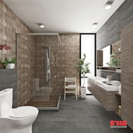 modern Bathroom by Dream Arquitectura & Diseño