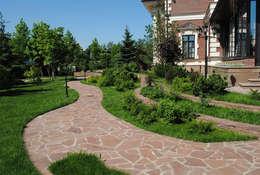 classic Garden by Ландшафтная студия land-proekt
