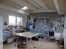 scandinavian Study/office by Garden Affairs Ltd