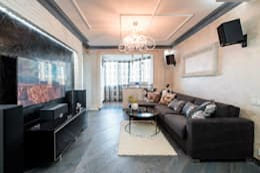 classic Living room by Ольга Макарова (Экодизайн)