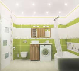 Design Rules: akdeniz tarzı tarz Banyo