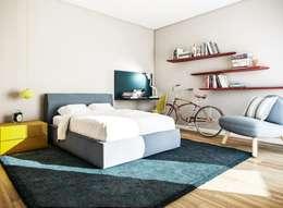 moderne Slaapkamer door Vilaça Interiores