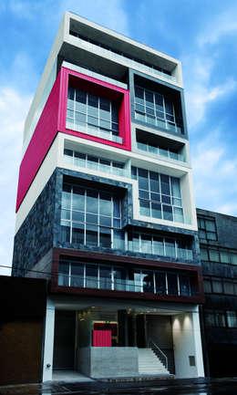 Projekty,   zaprojektowane przez BNKR Arquitectura