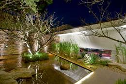 Jardines de estilo moderno por Hanazaki Paisagismo